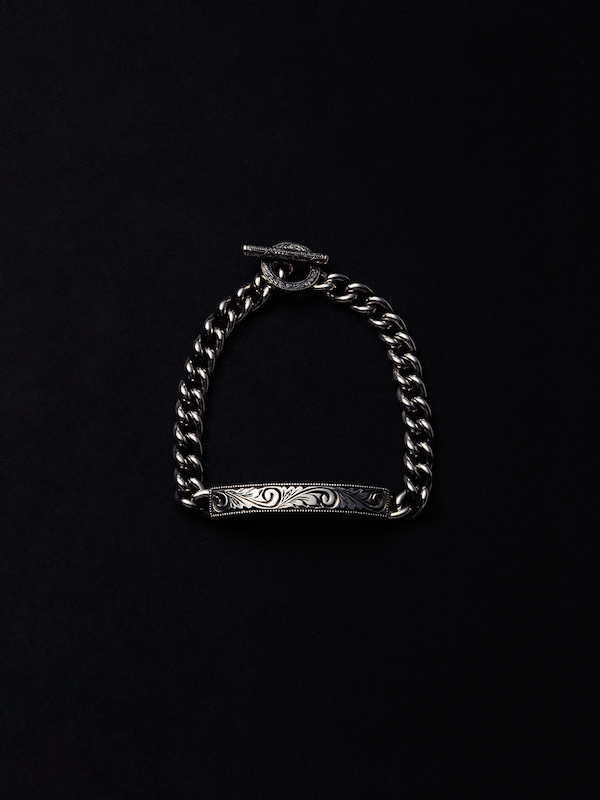 ANTIDOTE BUYERS CLUB Engraved ID Bracelet