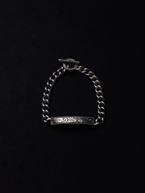 ANTIDOTE BUYERS CLUB Engraved ID Bracelet
