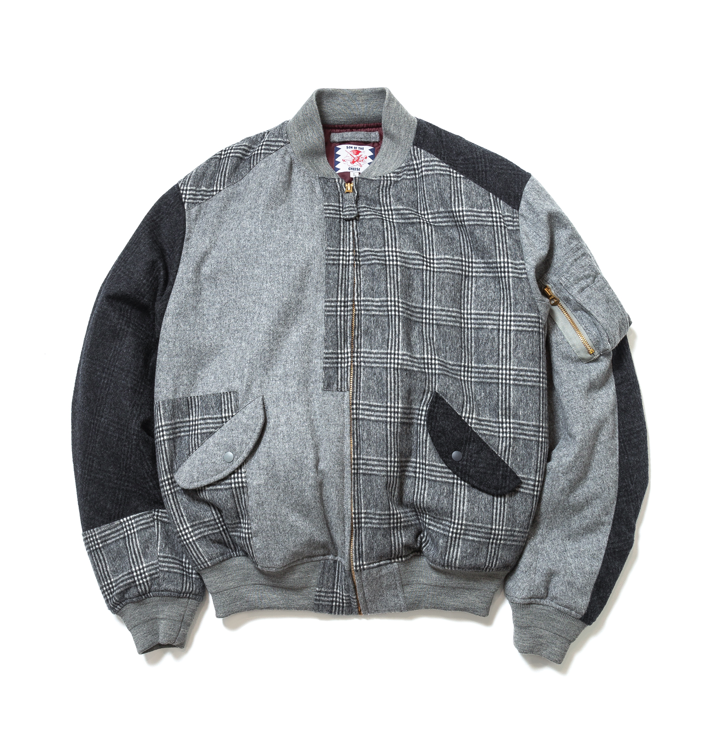 SON OF THE CHEESE RAM PATCH WORK MA-1