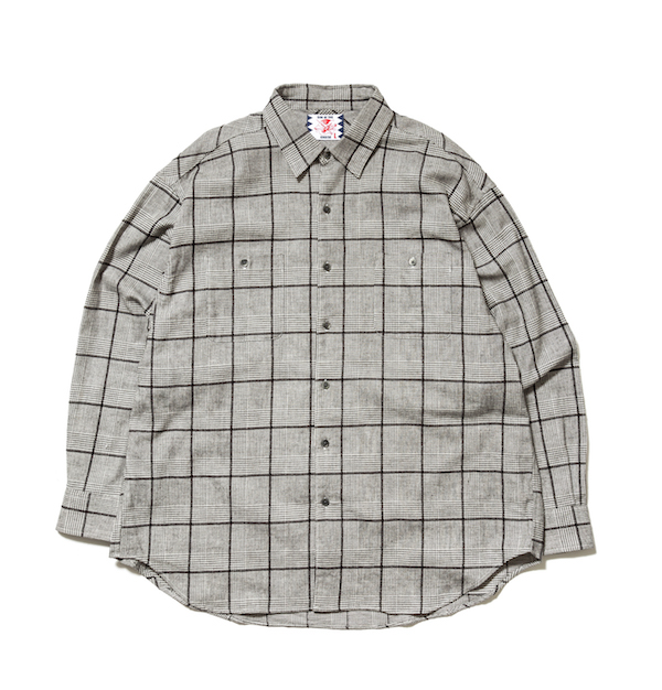 SON OF THE CHEESE Big Check Shirt