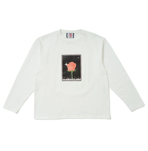 SON OF THE CHEESE Flower LS TEE