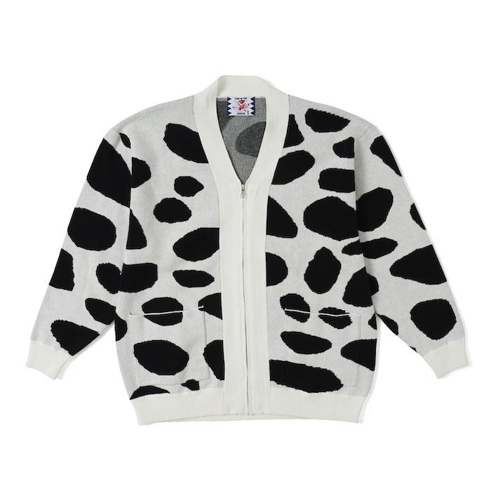 SON OF THE CHEESE Dalmatian Cardigan