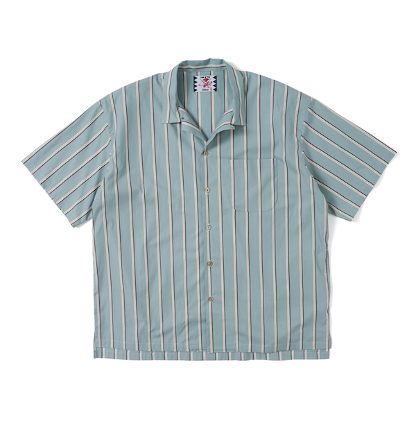 SON OF THE CHEESE Stripe OpShirt