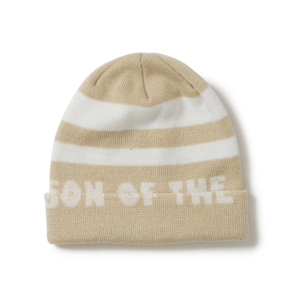 SON OF THE CHEESE Border KNITCAP