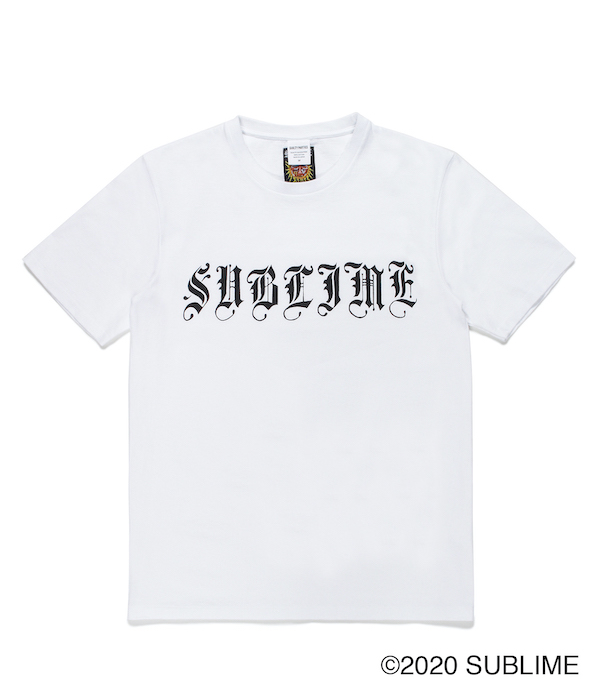 WACKO MARIA SUBLIME / WASHED HEAVY WEIGHT CREW NECK T-SHIRT