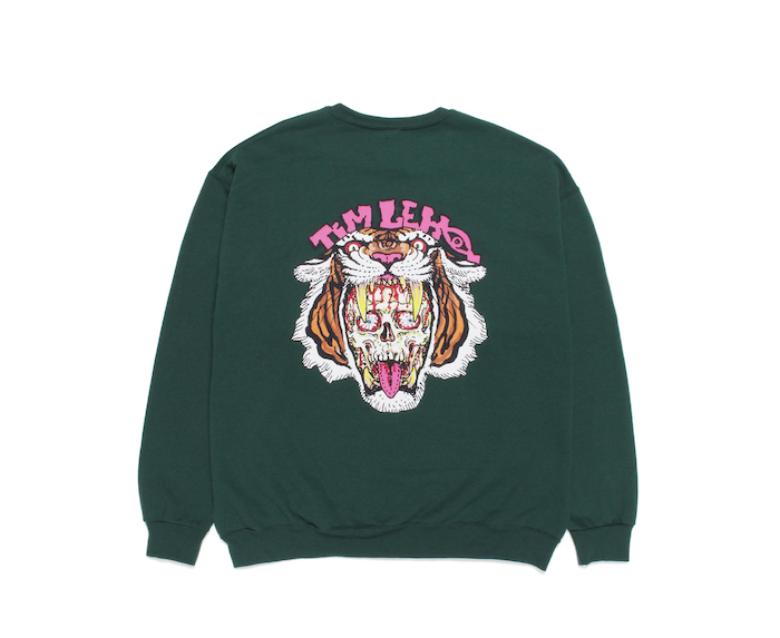 WACKO MARIA TIMLEHI / CREW NECK SWEAT SHIRT (TYPE-2)