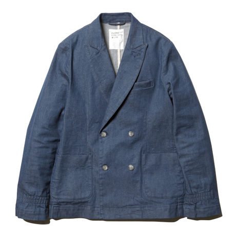 VLANK CONCEPT WEAR DENIM GENTLE BLAZER