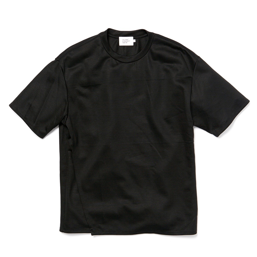 VLANK CONCEPT WEAR FRONT WRAP CREW TEE