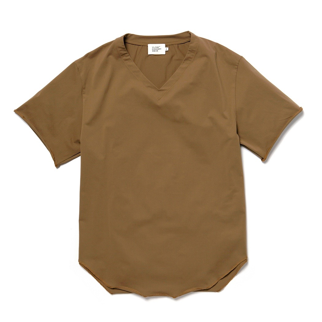 VLANK CONCEPT WEAR STRETCH V NECK TEE