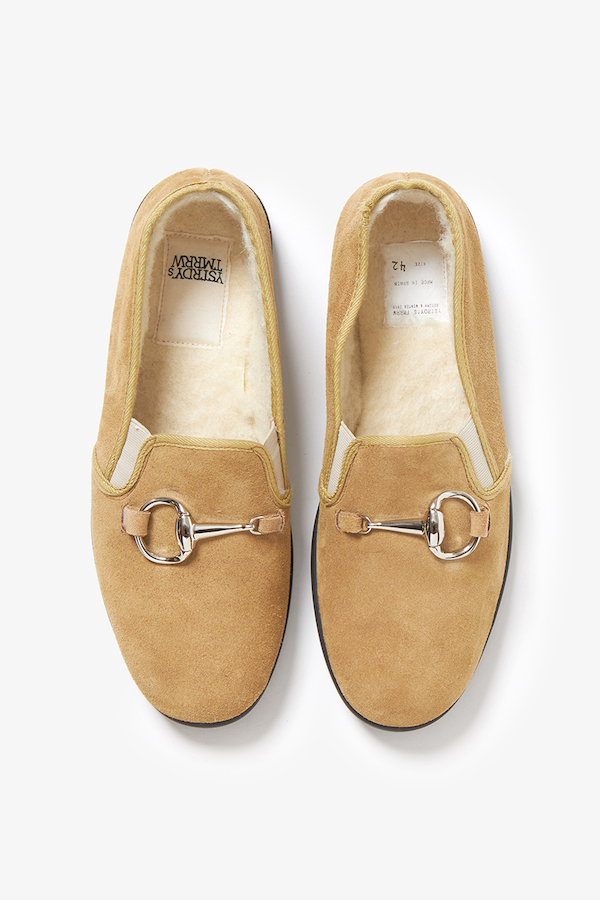 YSTRDY's TMRRW BIG HORSE BIT COZY SLIP-ON