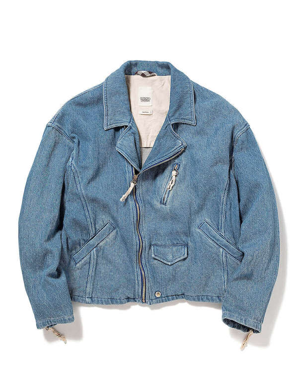 YSTRDY's TMRRW 11oz DENIM RUNAWAY JACKET