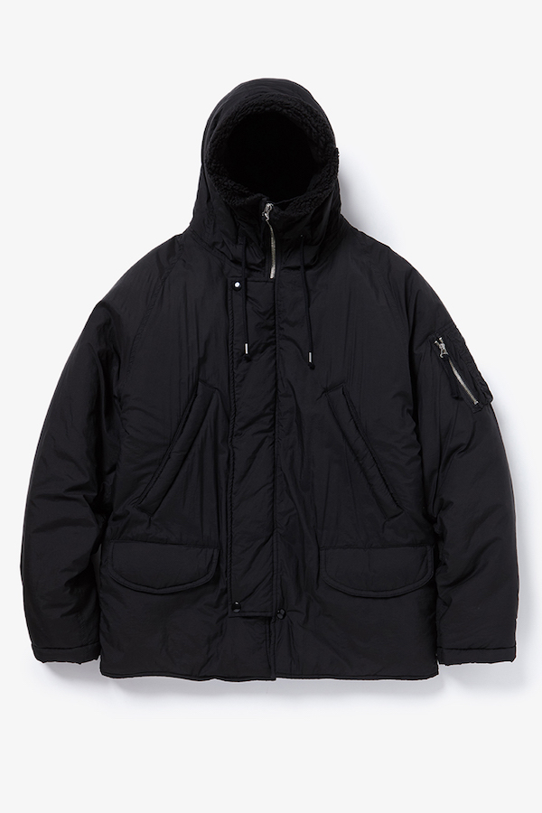 YSTRDY'S TMRRW PADDED PACIFISM HOODED JACKET