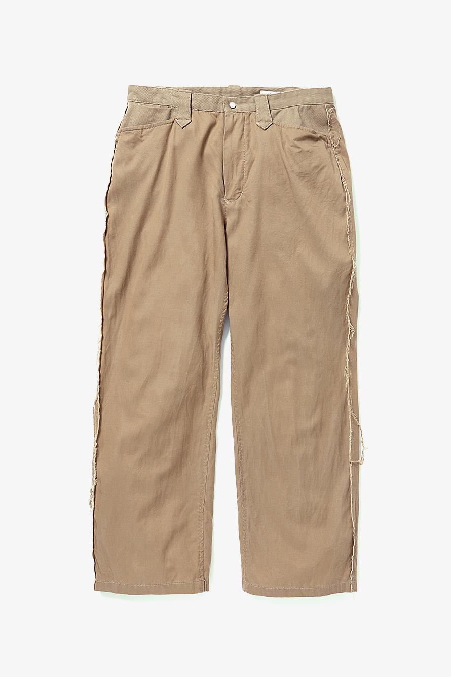 【YSTRDY'S TMRRW】WIDE LEG RODEO PANTS