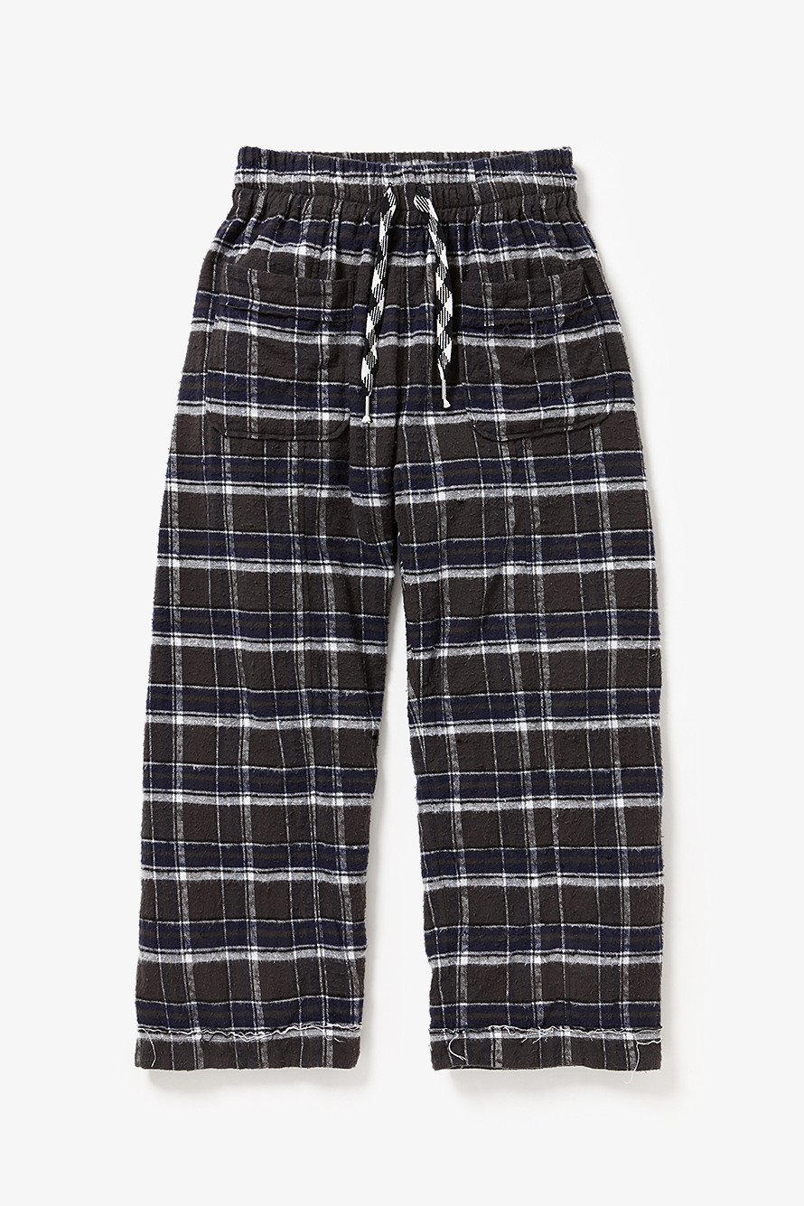 YSTRDY'S TMRRW PLAID WIDE LEG DREAMER PANTS