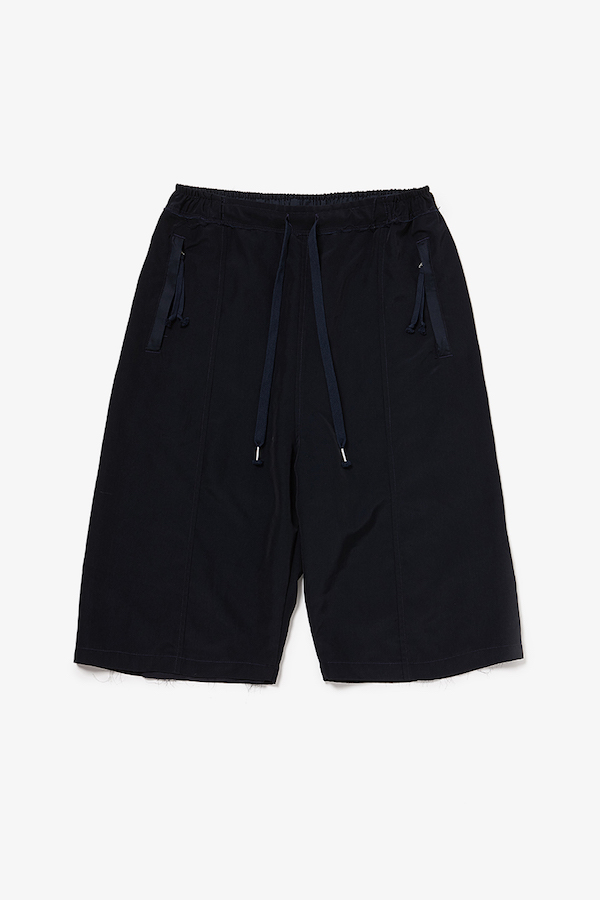YSTRDY'S TMRRW SATIN LAID-BACK SHORTS