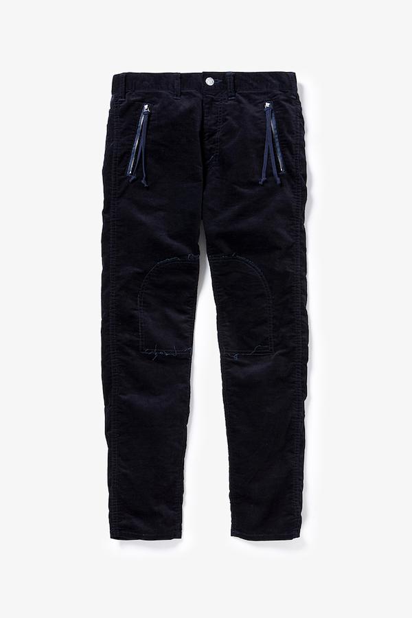 YSTRDY'S TMRRW SLIM LEG VELVET PANTS