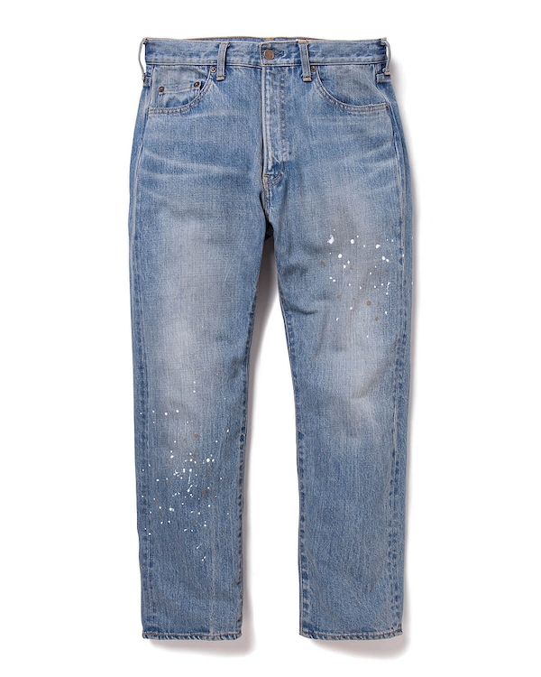 YSTRDY's TMRRW 13oz DENIM MEADOW PANTS BRUSHED