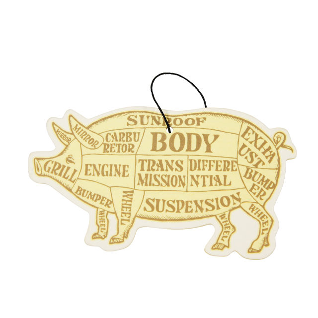 PORKCHOP GARAGE SUPPLY AIR FRESHENER