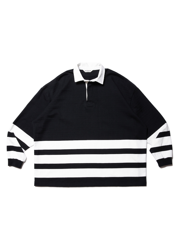 COOTIE Heavy Cotton Panel Border Rugger Shirt
