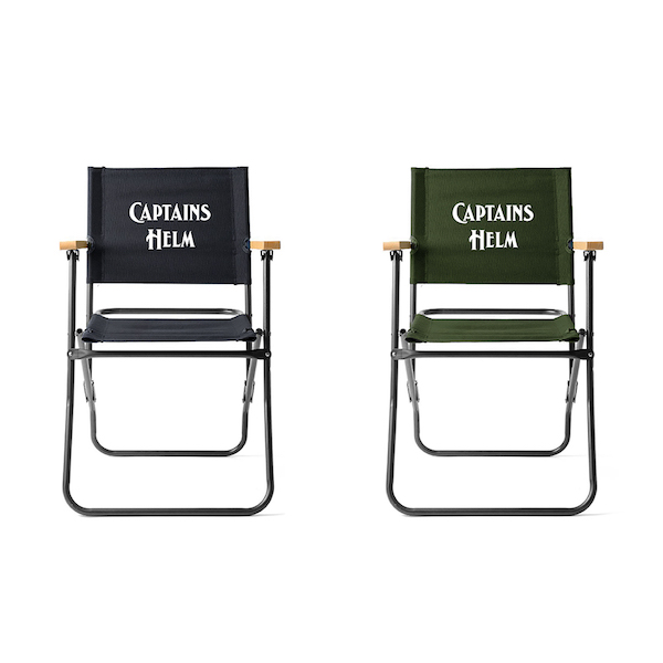 CAPTAINS HELM CH MILITARY FOLDING CHAIR