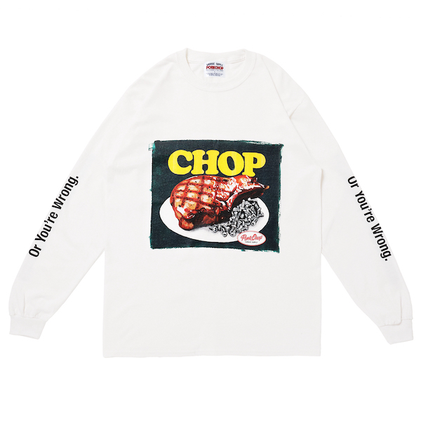 PORKCHOP GARAGE SUPPLY CHOP L/S TEE