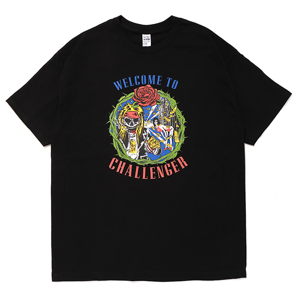 CHALLENGER WELCOME TO CHALLENGER TEE