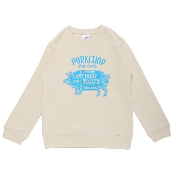 PORKCHOP GRAGE SUPPLY PORK FRONT SWEAT for Kids P-20