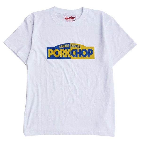 PORKCHOP GARAGE SUPPLY BLOCK LOGO TEE