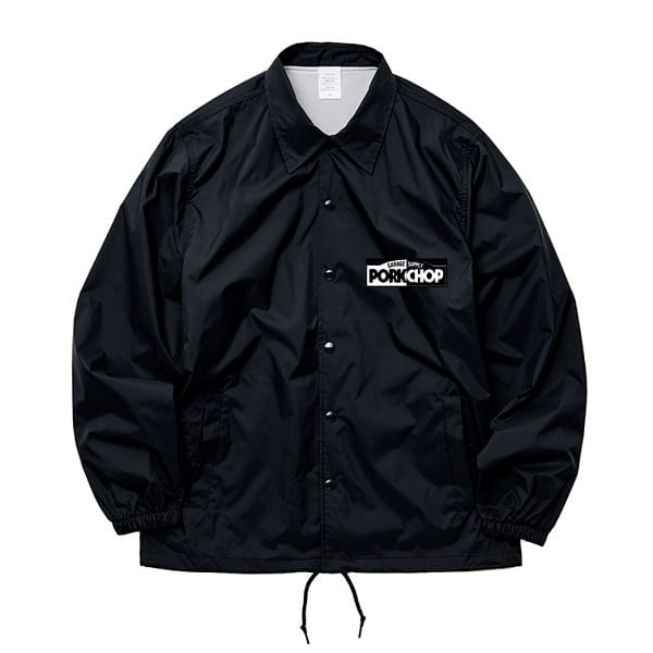 PORKCHOP GARAGE SUPPLY  西日本豪雨災害チャリティー BORN TOUGH COACH JKT
