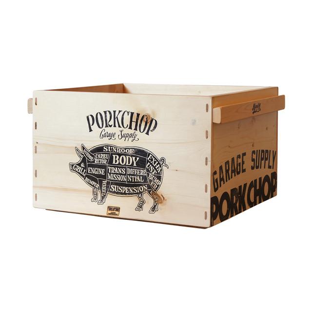 PORKCHOP GARAGE SUPPLY PORK BOX OPEN S M L XL