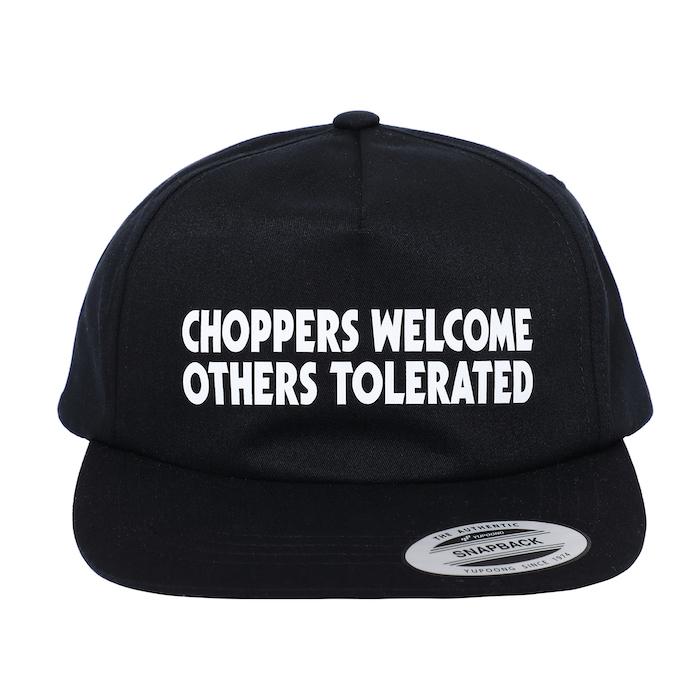 PORKCHOP GARAGE SUPPLY CHOPPERS WELCOME CAP