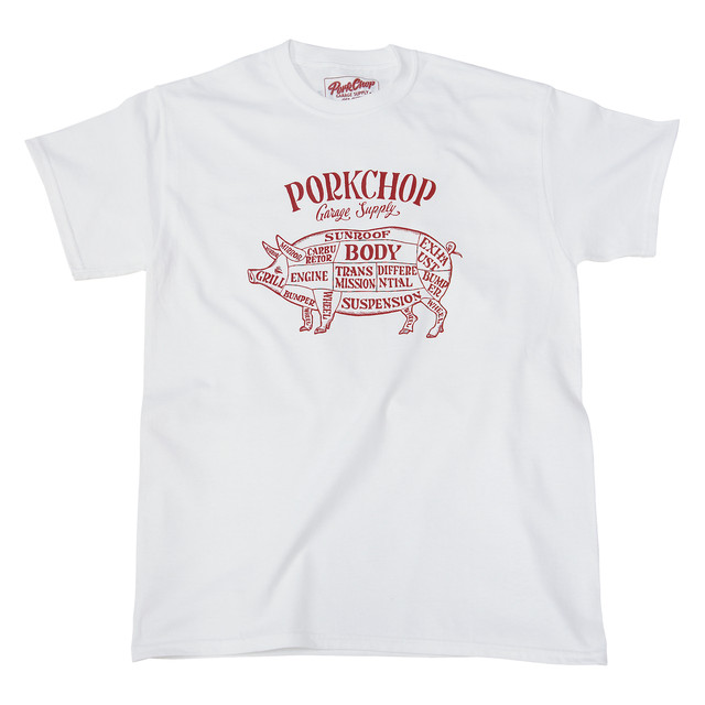 PORKCHOP GARAGE SUPPLY PORK FRONT TEE