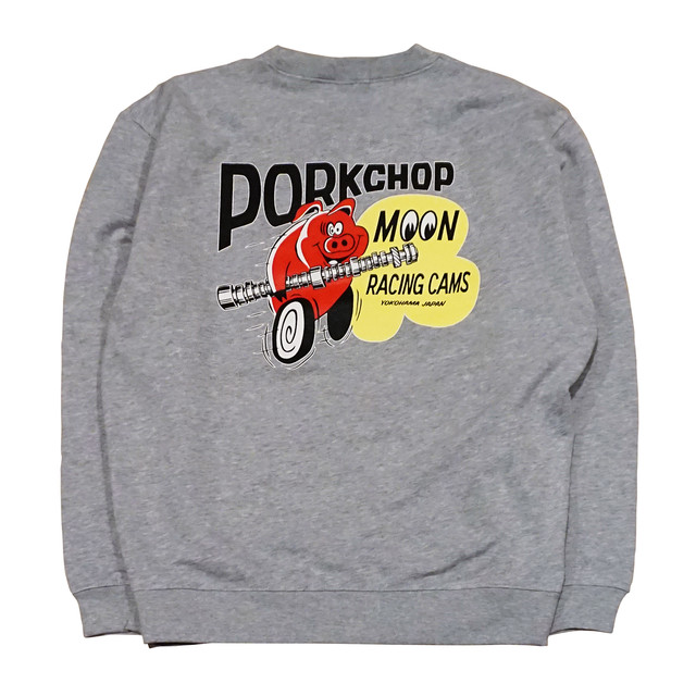 PORKCHOP GARAGE SUPPLY PORK MOON CAMS SWEAT