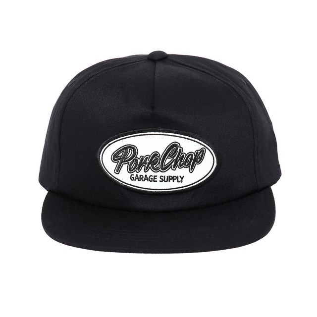 PORKCHOP GARAGE SUPPLY SCRIPT TRUCKER CAP