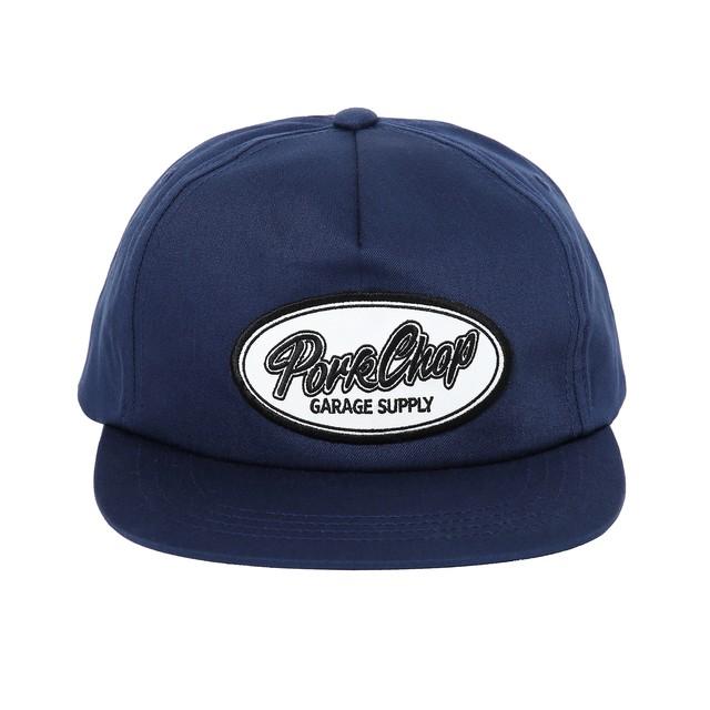 PORKCHOP GARAGE SUPPLY SCRIPT TRUCKER CAP
