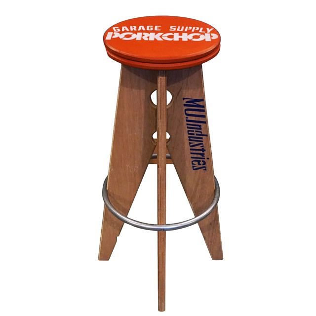 PORKCHOP GARAGE SUPPLY PORK STOOL Large