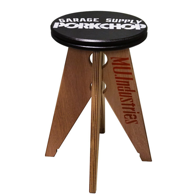PORKCHOP GARAGE SUPPLY PORK STOOL small