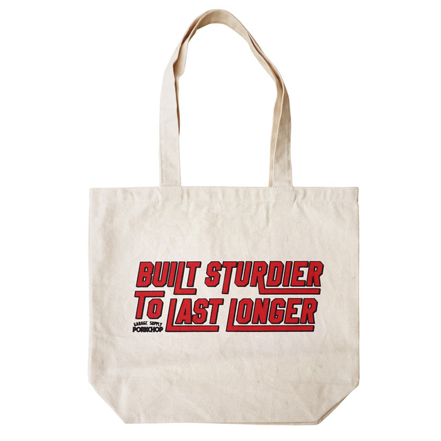 PORKCHOP GARAGE SUPPLY TOTE BAG