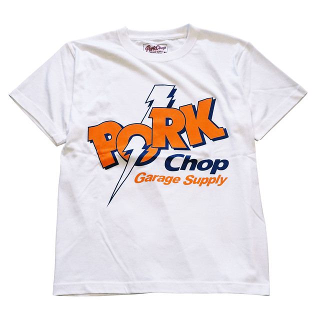 PORKCHOP GARAGE SUPPY JOLT PORK FRONT TEE