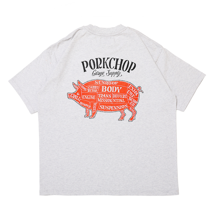 PORKCHOP GARAGE SUPPLY PORK BACK TEE