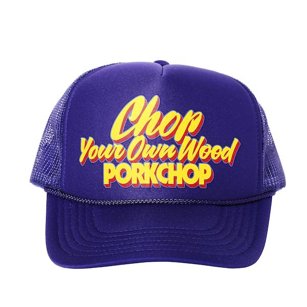 PORKCHOP GARAGE SUPPLY CHOP YOUR OWN WOOD CAP