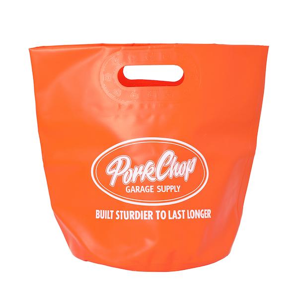 PORKCHOP GARAGE SUPPLY FOLDING BUCKET BAG