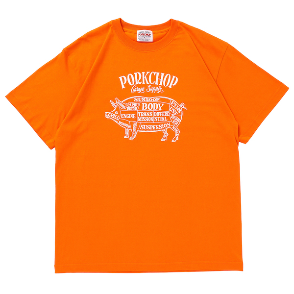 PORKCHOP GARAGE SUPPLY PORK FRONT S/S TEE