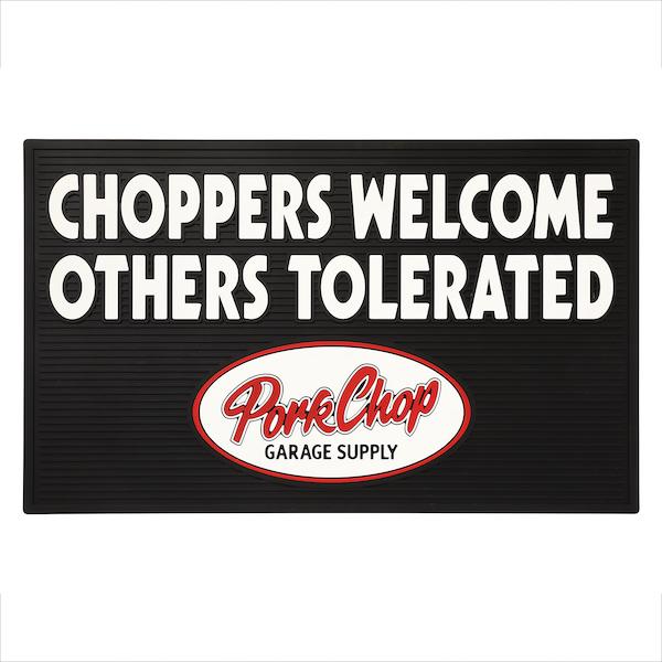 PORKCHOP GARAGE SUPPLY WELCOME RUBBER MAT